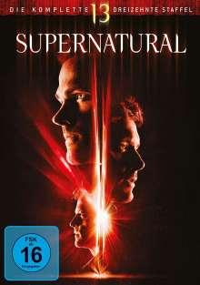 Supernatural Staffel 13, 5 DVDs
