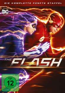 The Flash Staffel 5, 5 DVDs