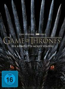 Game of Thrones Season 8, 4 DVDs