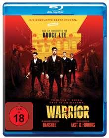 Warrior Staffel 1 (Blu-ray), 3 Blu-ray Discs