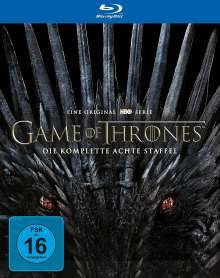 Game of Thrones Season 8 (finale Staffel) (Blu-ray), 3 Blu-ray Discs