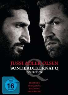 Jussi Adler Olsen - Sonderdezernat Q Collection, 4 DVDs
