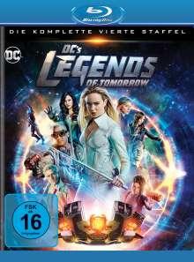 DC's Legends of Tomorrow Staffel 4 (Blu-ray), 4 Blu-ray Discs
