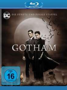 Gotham Staffel 5 (finale Staffel) (Blu-ray), 4 Blu-ray Discs