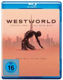 Westworld Staffel 3 (Blu-ray), 3 Blu-ray Discs