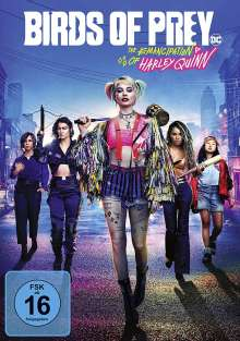 Birds of Prey - The Emancipation of Harley Quinn, DVD