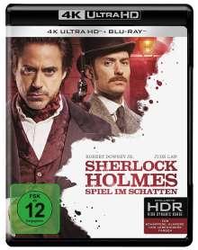 Sherlock Holmes - Spiel im Schatten (Ultra HD Blu-ray & Blu-ray), 1 Ultra HD Blu-ray und 1 Blu-ray Disc