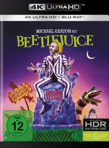 Beetlejuice (Ultra HD Blu-ray & Blu-ray), 1 Ultra HD Blu-ray und 1 Blu-ray Disc