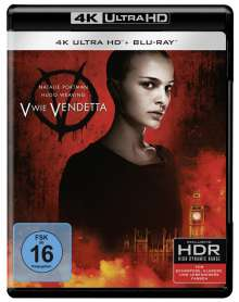 V wie Vendetta (Ultra HD Blu-ray & Blu-ray), 1 Ultra HD Blu-ray und 1 Blu-ray Disc