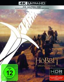 Der Hobbit: Die Trilogie (Extended Edition) (Ultra HD Blu-ray), 6 Ultra HD Blu-rays