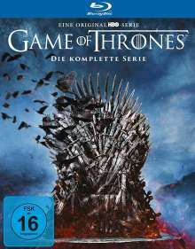 Game of Thrones (Komplette Serie) (Blu-ray), 33 Blu-ray Discs