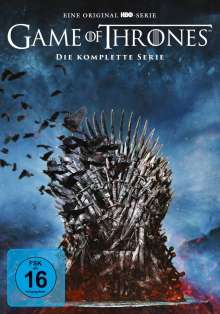 Game of Thrones (Komplette Serie), 38 DVDs