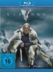 Vikings Staffel 6 Box 1 (Blu-ray), 3 Blu-ray Discs