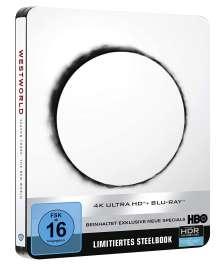 Westworld Staffel 3 (Ultra HD Blu-ray & Blu-ray im Steelbook), 3 Ultra HD Blu-rays und 3 Blu-ray Discs