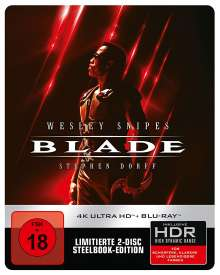 Blade (Ultra HD Blu-ray & Blu-ray im Steelbook), 1 Ultra HD Blu-ray und 1 Blu-ray Disc