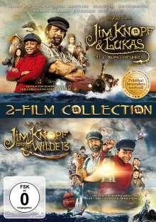 Jim Knopf & Lukas der Lokomotivführer / Jim Knopf und die Wilde 13, 2 DVDs