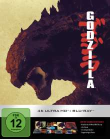 Godzilla (2014) (Ultimate Collector's Edition) (Ultra HD Blu-ray & Blu-ray), 1 Ultra HD Blu-ray und 1 Blu-ray Disc