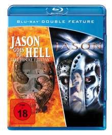 Jason goes to Hell / Jason X  (Blu-ray), Blu-ray Disc