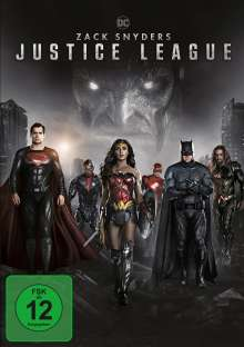 Zack Snyder's Justice League, 2 DVDs
