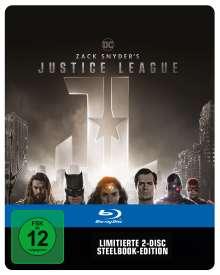 Zack Snyder's Justice League (Blu-ray im Steelbook), 2 Blu-ray Discs