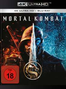 Mortal Kombat (2021) (Ultra HD Blu-ray & Blu-ray), 1 Ultra HD Blu-ray und 1 Blu-ray Disc