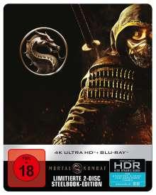 Mortal Kombat (2021) (Ultra HD Blu-ray & Blu-ray im Steelbook), 1 Ultra HD Blu-ray und 1 Blu-ray Disc