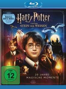 Harry Potter und der Stein der Weisen (Jubiläumsedition inkl. Magical Movie Mode) (Blu-ray), 2 Blu-ray Discs