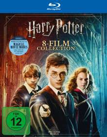 Harry Potter Complete Collection (Jubiläumsedition) (8 Filme) (Blu-ray), 9 Blu-ray Discs