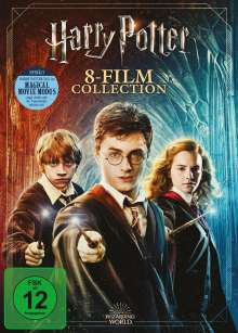 Harry Potter Complete Collection (Jubiläumsedition) (8 Filme), 9 DVDs
