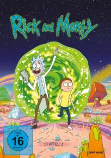 Rick and Morty Staffel 1, 2 DVDs