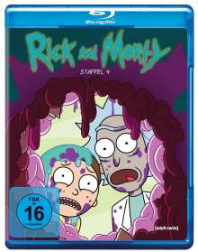 Rick and Morty Staffel 4 (Blu-ray), Blu-ray Disc