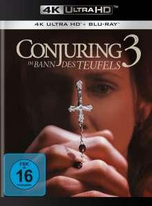 Conjuring 3: Im Bann des Teufels (Ultra HD Blu-ray & Blu-ray), 1 Ultra HD Blu-ray und 1 Blu-ray Disc