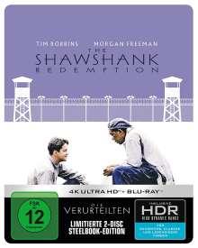 Die Verurteilten (Ultra HD Blu-ray & Blu-ray im Steelbook), 1 Ultra HD Blu-ray und 1 Blu-ray Disc