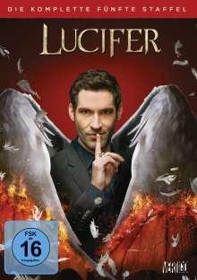 Lucifer Staffel 5, 4 DVDs