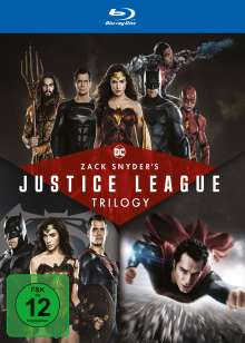 Zack Snyder's Justice League Trilogy (Blu-ray), 4 Blu-ray Discs