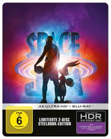 Space Jam: A New Legacy (Ultra HD Blu-ray & Blu-ray im Steelbook), 1 Ultra HD Blu-ray und 1 Blu-ray Disc