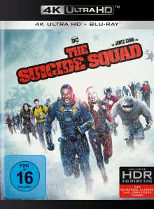 The Suicide Squad (Ultra HD Blu-ray & Blu-ray), 1 Ultra HD Blu-ray und 1 Blu-ray Disc