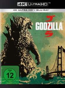 Godzilla (2014) (Ultra HD Blu-ray & Blu-ray), 1 Ultra HD Blu-ray und 1 Blu-ray Disc