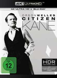 Citizen Kane (Ultra HD Blu-ray & Blu-ray), 1 Ultra HD Blu-ray und 1 Blu-ray Disc