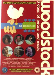 Woodstock: 3 Days Of Peace..., 4 DVDs