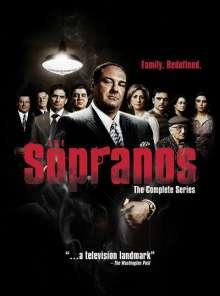The Sopranos Season 1-6 (UK Import), 28 DVDs