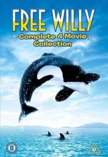 Free Willy Collection (UK Import), 4 DVDs