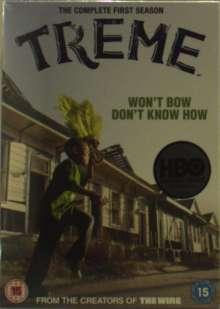 Treme Season 1 (UK Import), 4 DVDs