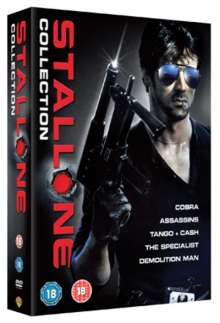 Sylvester Stallone Collection (UK Import), 5 DVDs