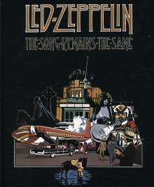 Led Zeppelin: The Song Remains The Same, DVD