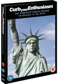 Curb Your Enthusiasm Season 8 (UK-Import), 2 DVDs