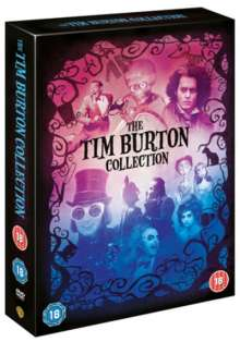 Tim Burton Collection (UK Import), 8 DVDs