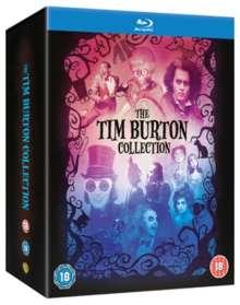 Tim Burton Collection (Blu-ray) (UK Import mit deutscher Tonspur), 8 Blu-ray Discs