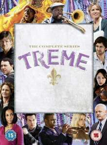 Treme Season 1-4 (UK-Import), 14 DVDs