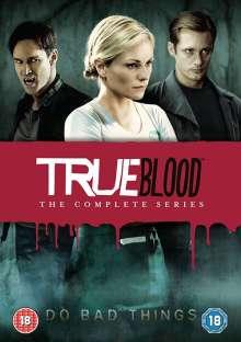 True Blood Season 1-7 (UK Import), 33 DVDs